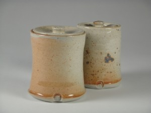 Storage Pots Gas Fired Shino Glaze