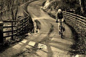 Me cycling
