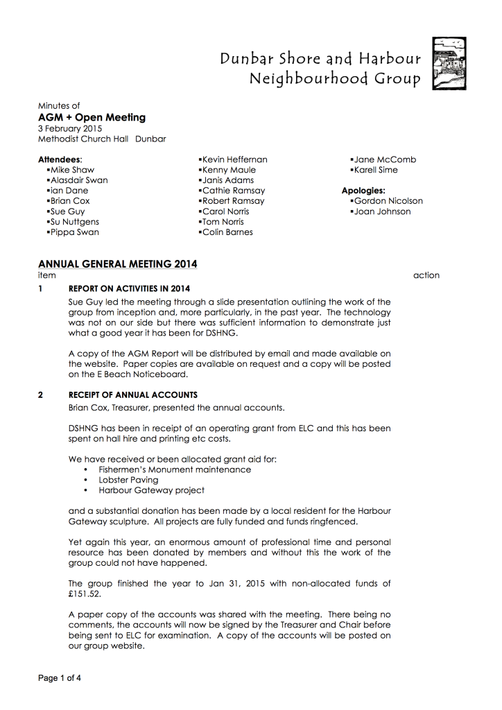 Minutes AGM&Open 03.02.15