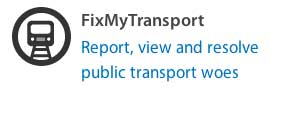 Fix My Transport Contact Your Politician
