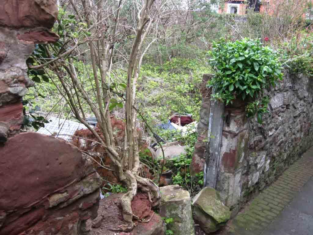 Church ST Garden Wall