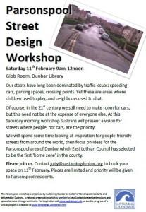 Parsonspool Design Workshop