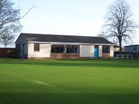 The local bowling club has been renovated for use by villagers for a range of activities.