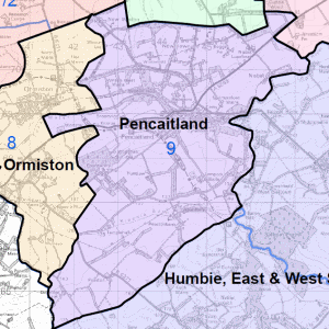 Pencaitland Community Council Area Map