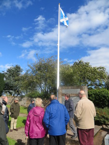Flag Pole Athestaneford Friend's Open Day