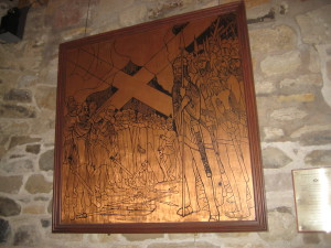 Saltire Legend Plaque