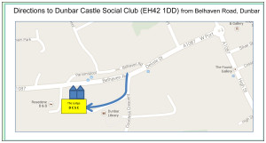 Local Road Directions to DCSC